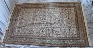 VINTAGE PERSIAN WOOL ROOM RUG CARPET 7.5X5