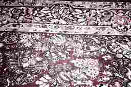 LARGE RED HAND WOVEN PERSIAN ORIENTAL CARPET 12ft x9 ft