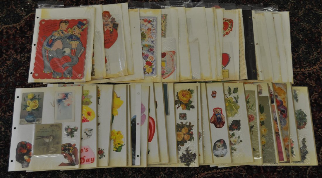 ANTIQUE VINTAGE VALENTINES GREETING CARDS POSTCARDS XC