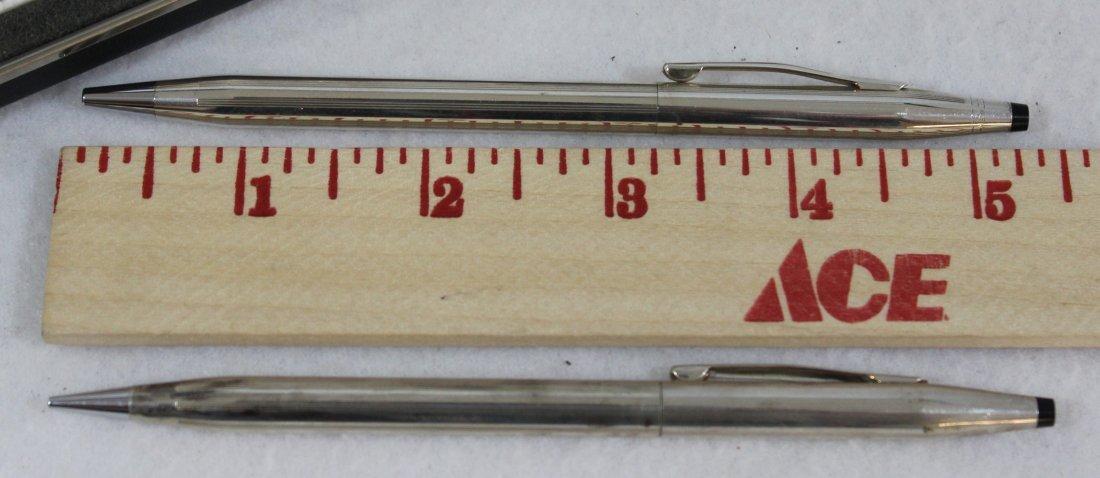 CROSS STERLING SILVER PEN PENCIL SET W BOX XW - 6