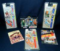 HOT WHEELS NASCAR WATCHES 6PC COLLECTOR LOT XR