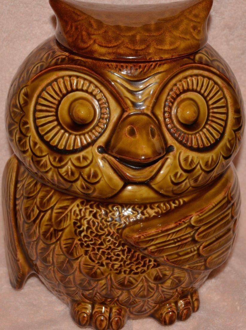 MCCOY POTTERY LCC 1970s WOODSY OWL #204 COOKIE JAR XJ