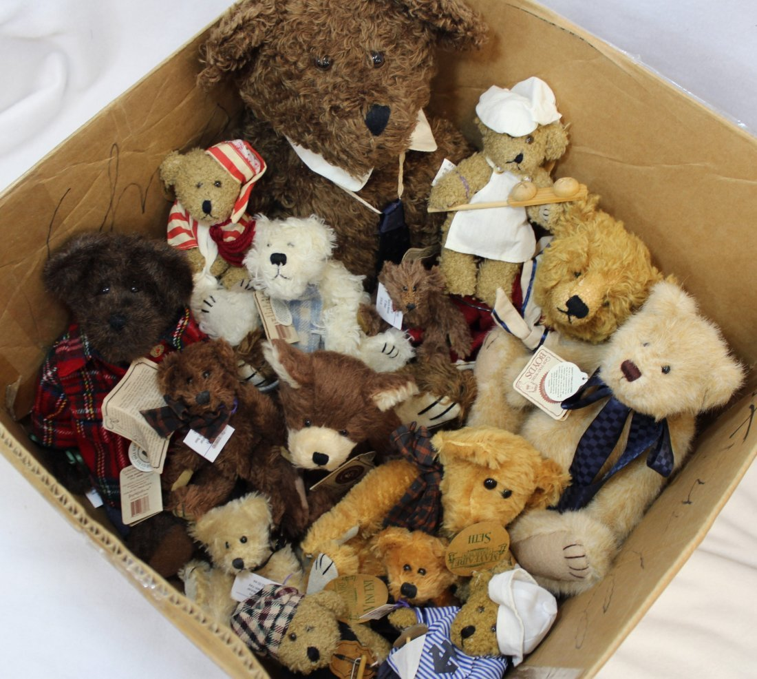 LOT 16 BOYDS & MAYFAIRE BEARS WITH TAGS EXCELLENT  XT - 10