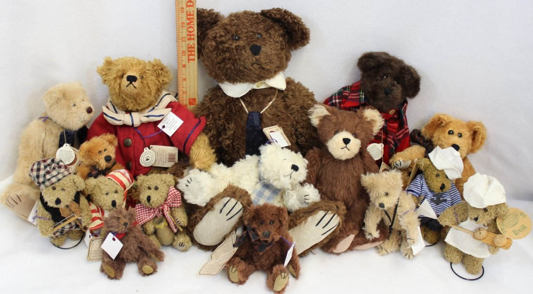LOT 16 BOYDS & MAYFAIRE BEARS WITH TAGS EXCELLENT  XT - 2