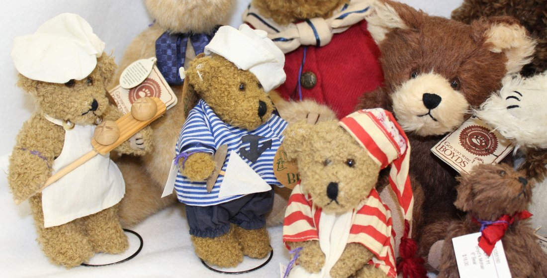 LOT 16 BOYDS & MAYFAIRE BEARS WITH TAGS EXCELLENT  XT - 4