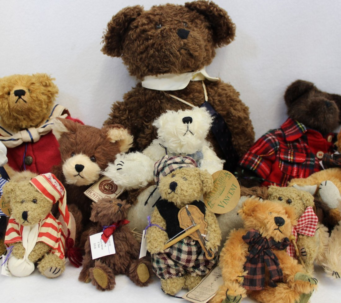 LOT 16 BOYDS & MAYFAIRE BEARS WITH TAGS EXCELLENT  XT - 5