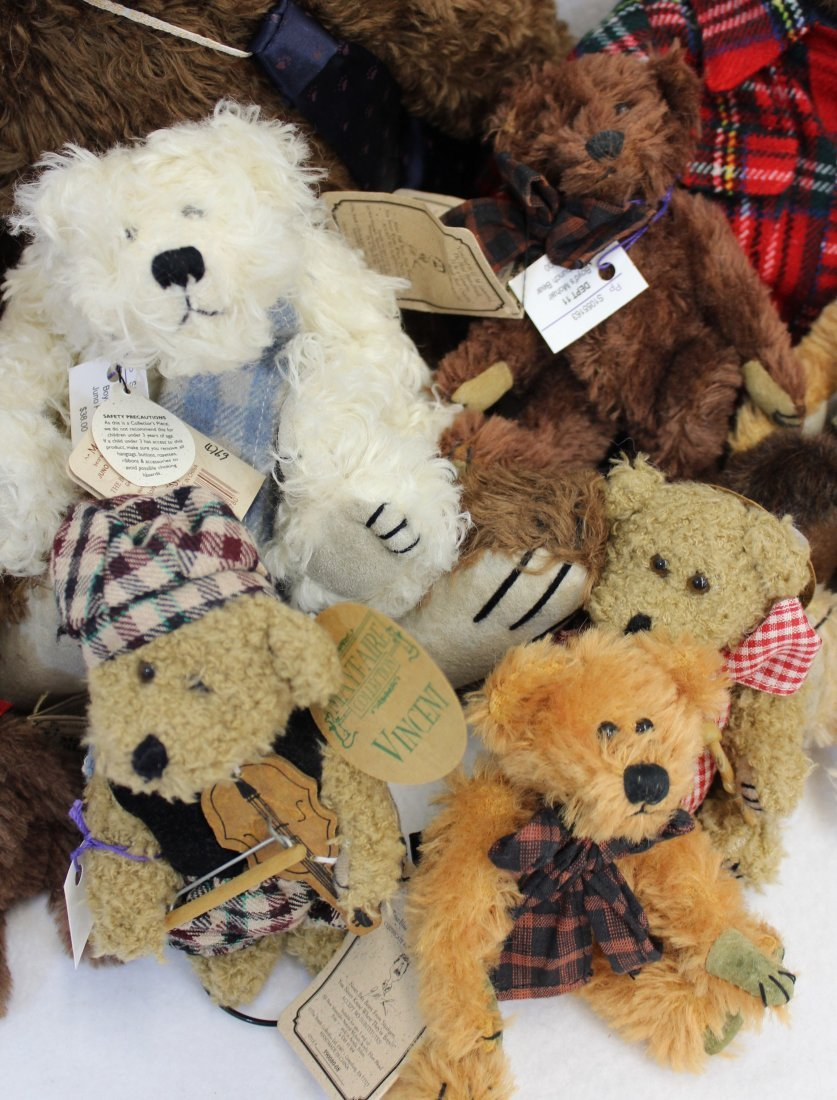 LOT 16 BOYDS & MAYFAIRE BEARS WITH TAGS EXCELLENT  XT - 9