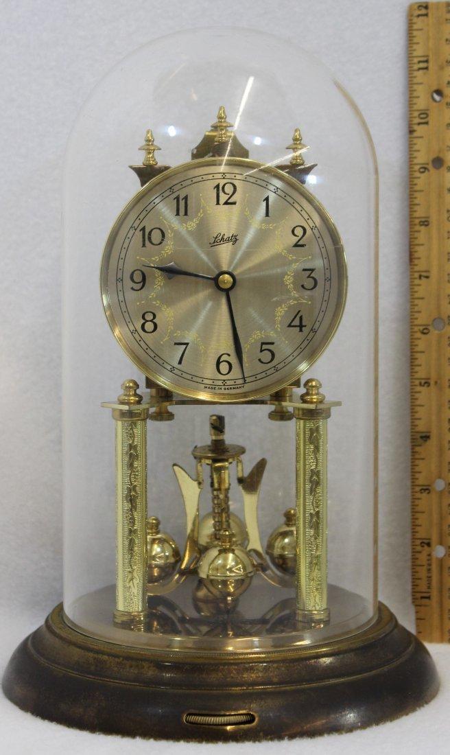 SCHATZ 400 DAY ANNIVERSARY CLOCK GERMANY XW - 5