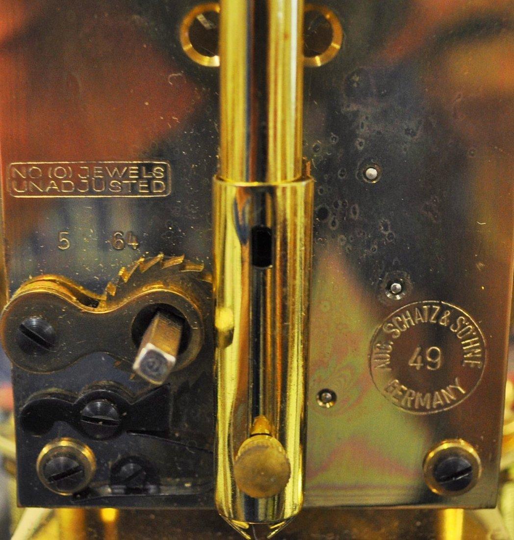 SCHATZ 400 DAY ANNIVERSARY CLOCK GERMANY XW - 7