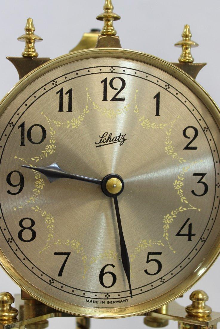 SCHATZ 400 DAY ANNIVERSARY CLOCK GERMANY XW - 8