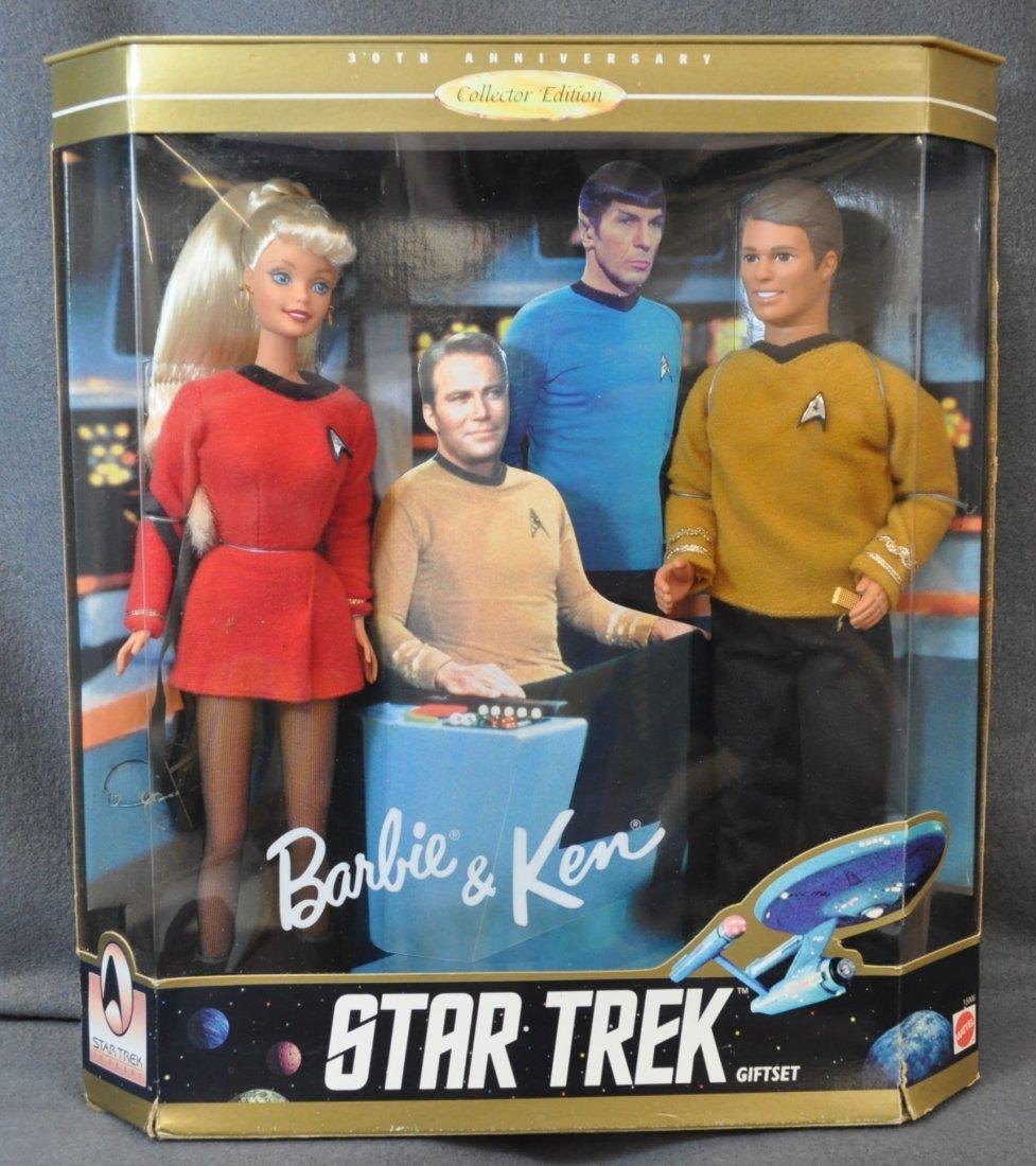 BARBIE KEN DOLLS 7 ORIG BOX MONET SCARLETT STAR TREK XK - 2