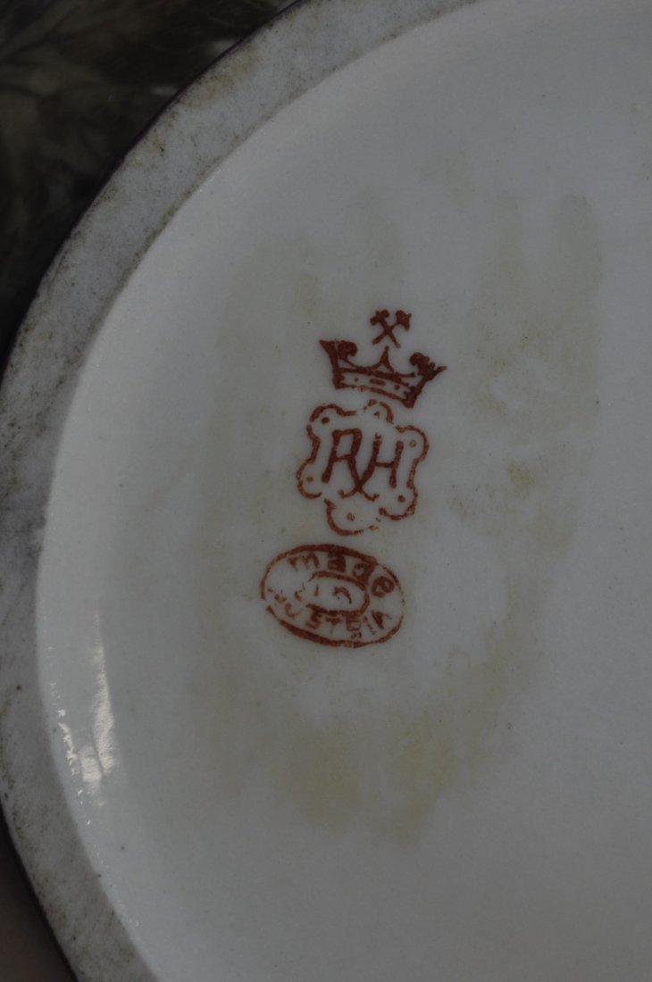 1910 RARE ROBERT HANKE HP DRAGON HANDLE LOBED TEAPOT XW - 7
