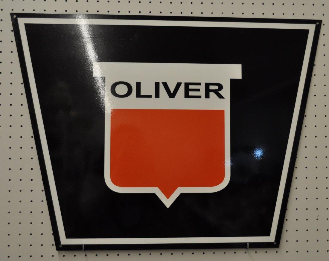 OLIVER FARM EQUIPMENT DISPLAY SIGN 30X22 XT