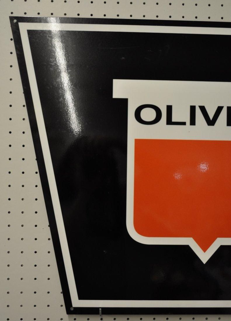 OLIVER FARM EQUIPMENT DISPLAY SIGN 30X22 XT - 2