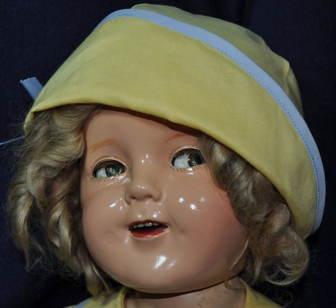 """25"""" IDEAL 1935 LITTLE COLONEL SHIRLEY TEMPLE DOLL - 2"""