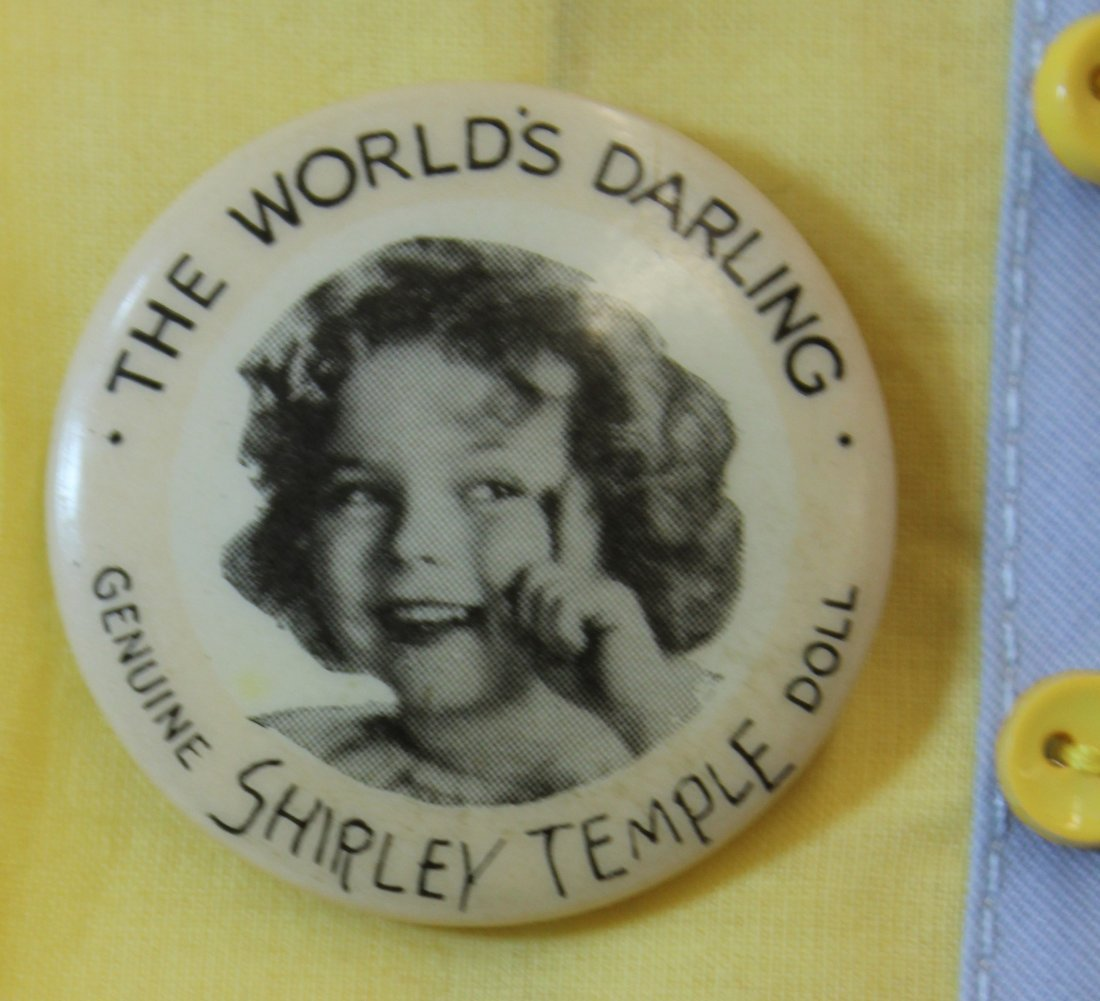 """25"""" IDEAL 1935 LITTLE COLONEL SHIRLEY TEMPLE DOLL - 4"""