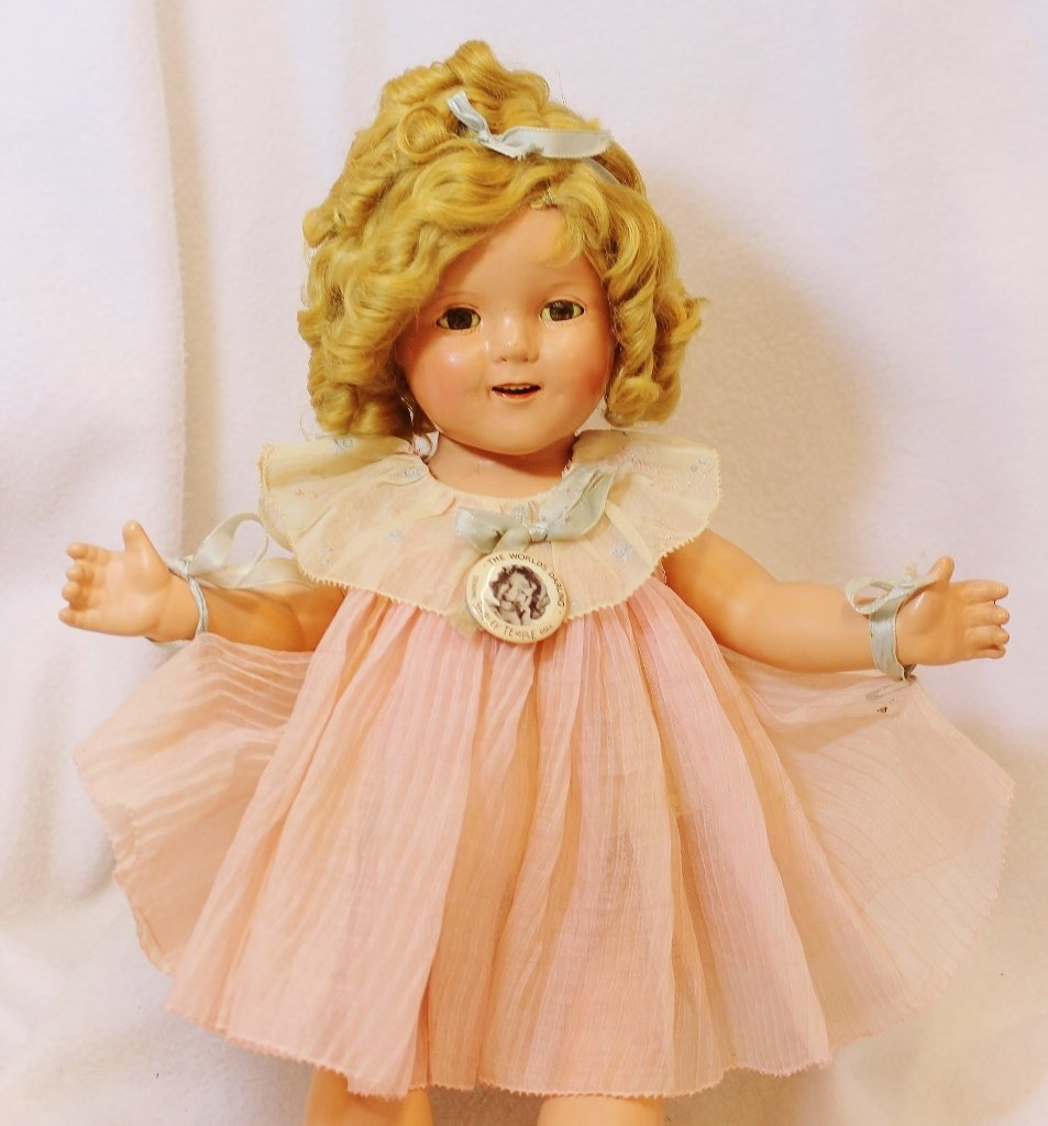 RARE SHIRLEY TEMPLE IDEAL PROTOTYPE DOLL 20 INCHES