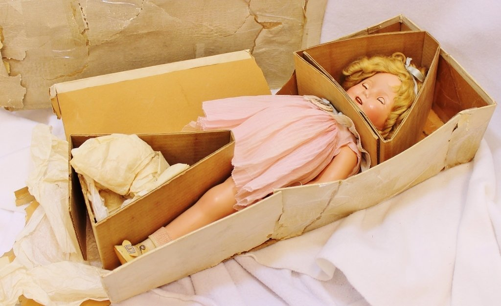 RARE SHIRLEY TEMPLE IDEAL PROTOTYPE DOLL 20 INCHES - 2