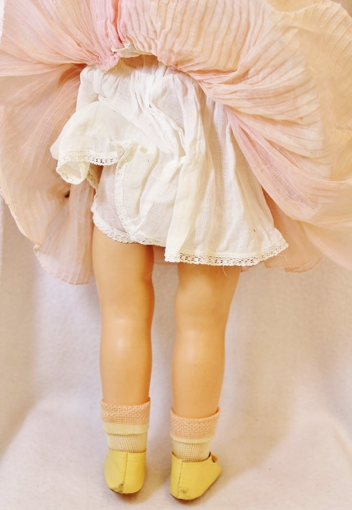 RARE SHIRLEY TEMPLE IDEAL PROTOTYPE DOLL 20 INCHES - 4