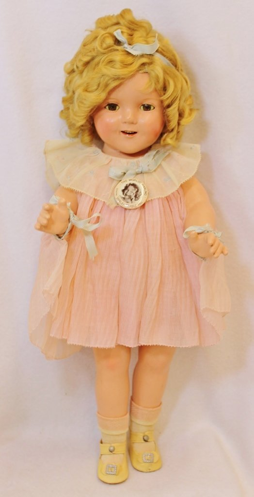 RARE SHIRLEY TEMPLE IDEAL PROTOTYPE DOLL 20 INCHES - 8