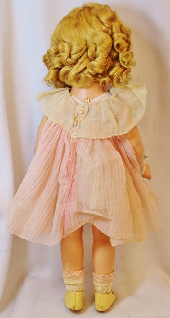 RARE SHIRLEY TEMPLE IDEAL PROTOTYPE DOLL 20 INCHES - 9