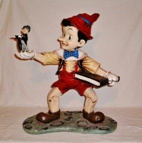 Lg 26 In Disney Fiberglass Display Sculpture Figure