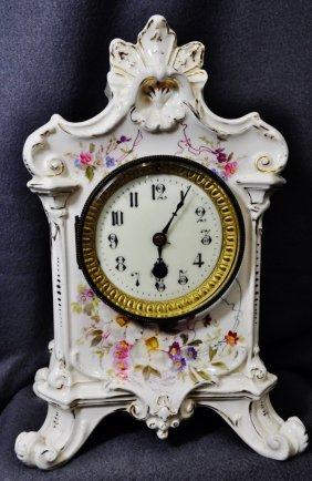 1900 Royal Bonn Ansonia La Salle French Drum Clock