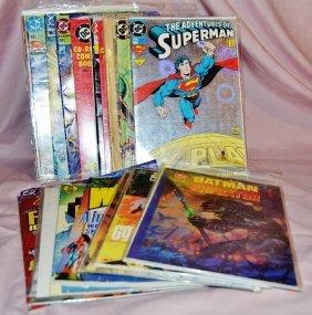 Lot 24 Vintage Dc Comics Comicbooks