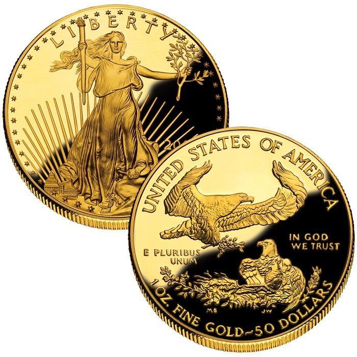 Liberty American Eagle Gold 1 Oz Coin Random Year