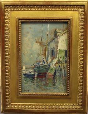 Arthur Diehl (1870 - 1929) Provincetown Wharf