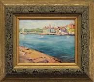 Max Kuehne (1880 - 1968) Gloucester Harbor
