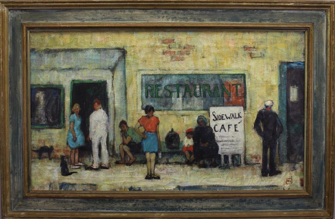 "Harriet Lord (1879 - 1958) ""Bus Stop"""