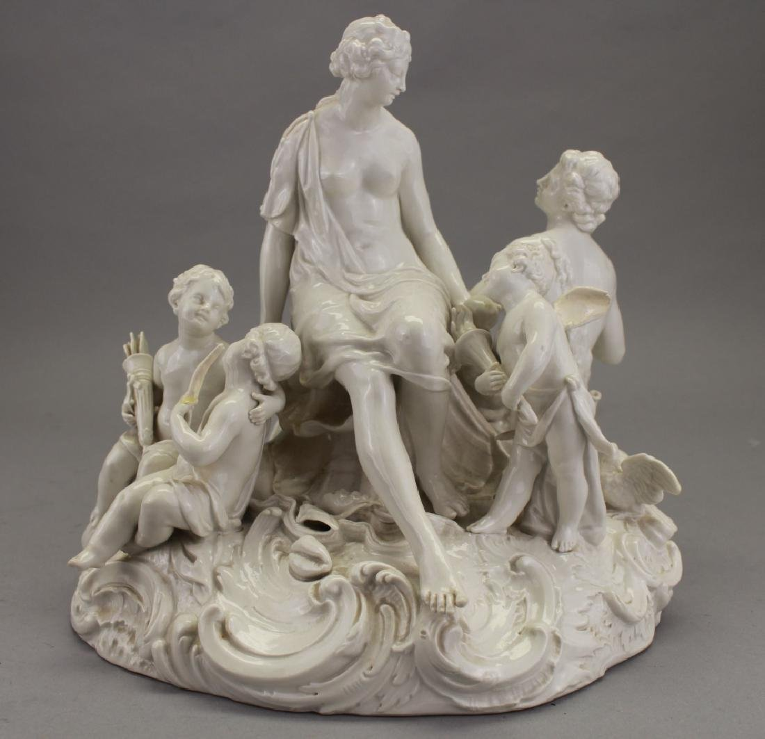 Antique European Porcelain Figural Grouping