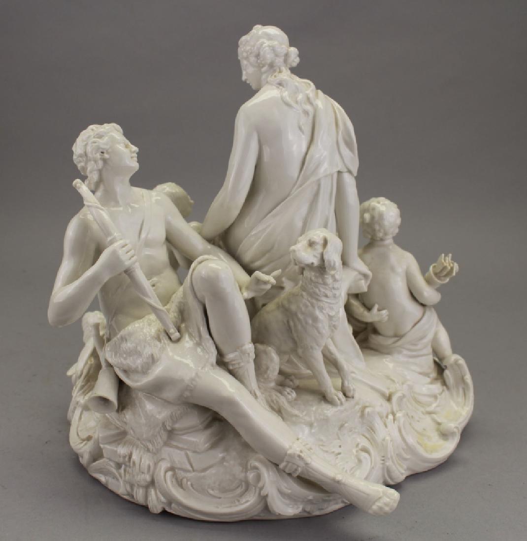 Antique European Porcelain Figural Grouping - 3