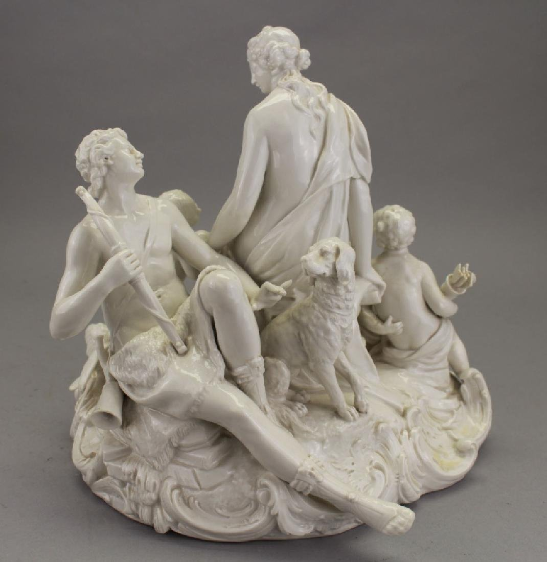 Antique European Porcelain Figural Grouping - 3