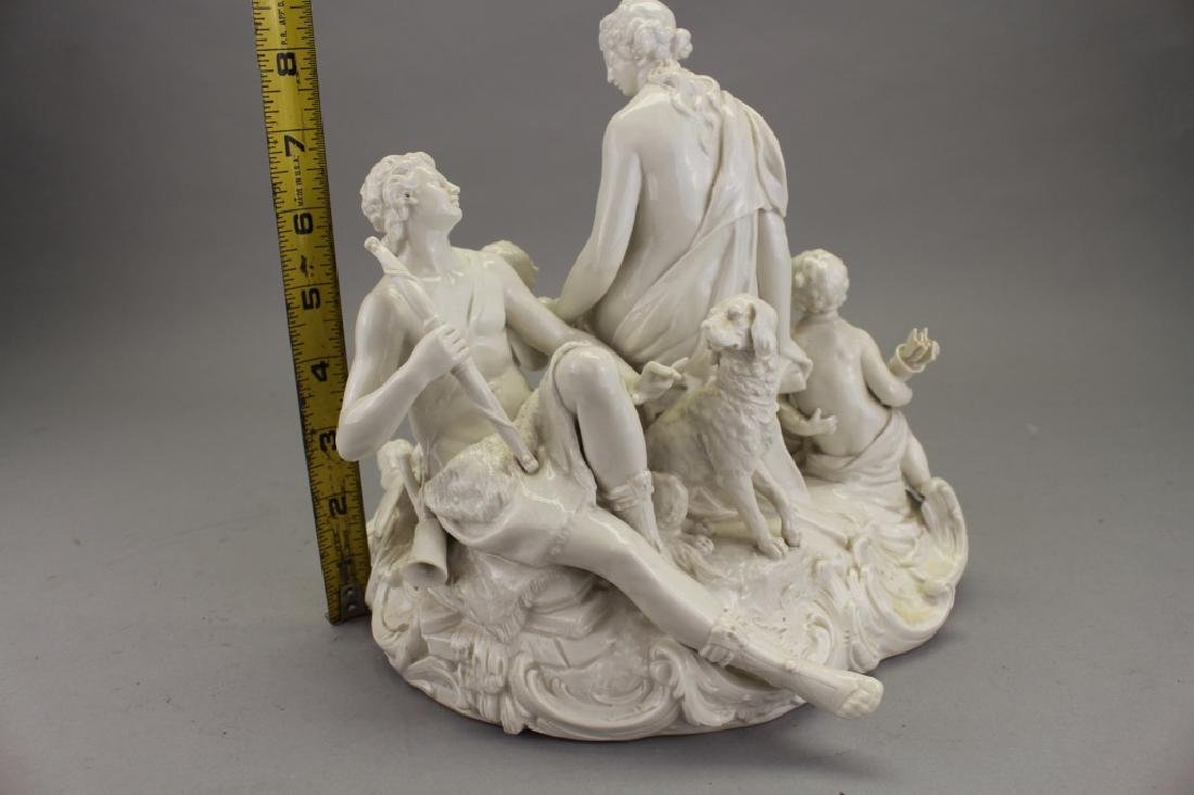 Antique European Porcelain Figural Grouping - 4