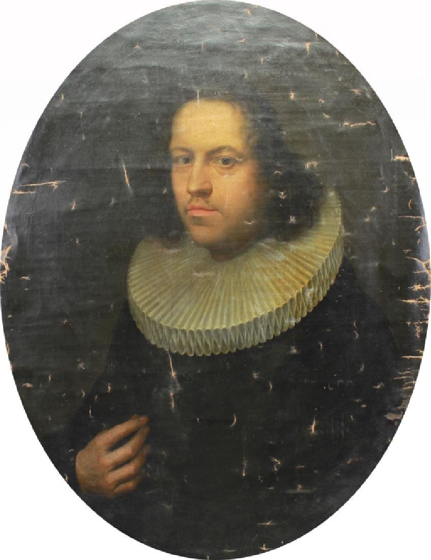 Circle of Frans Pourbus (1545 - 1581) Portrait
