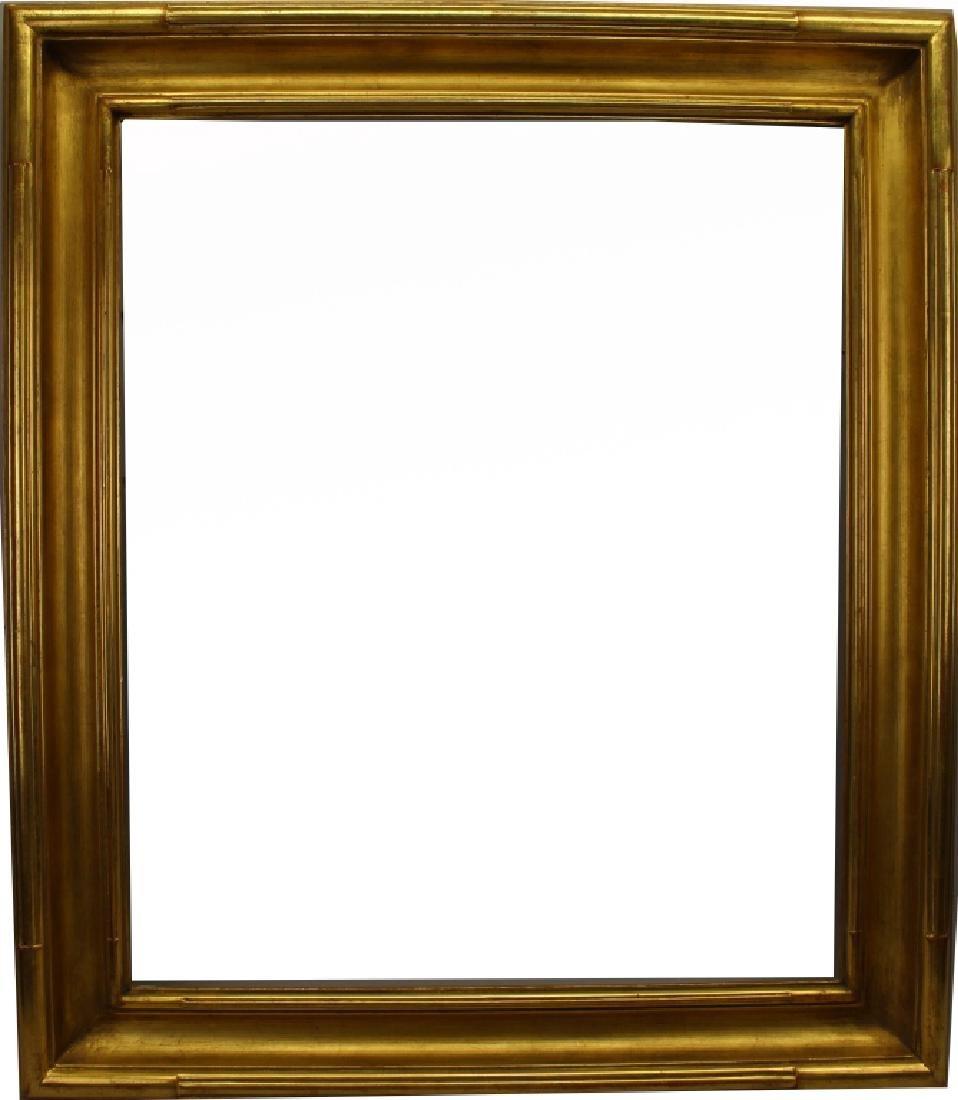 Carved Gilt Wood American Frame