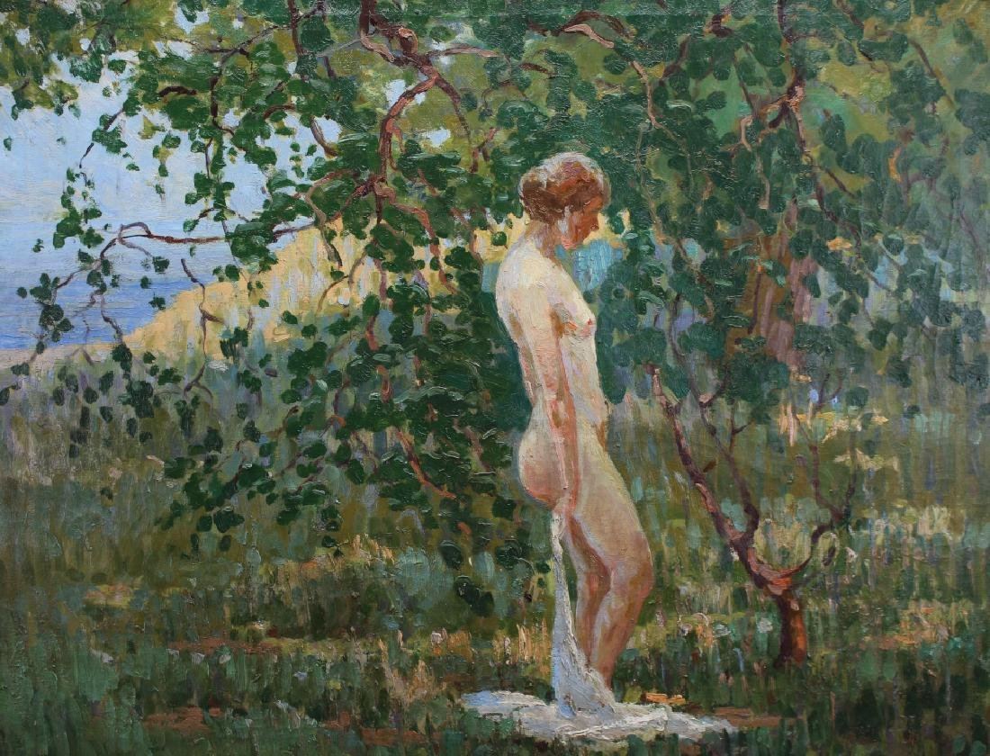 Exceptional Impressionist Woman in Landscape - 2
