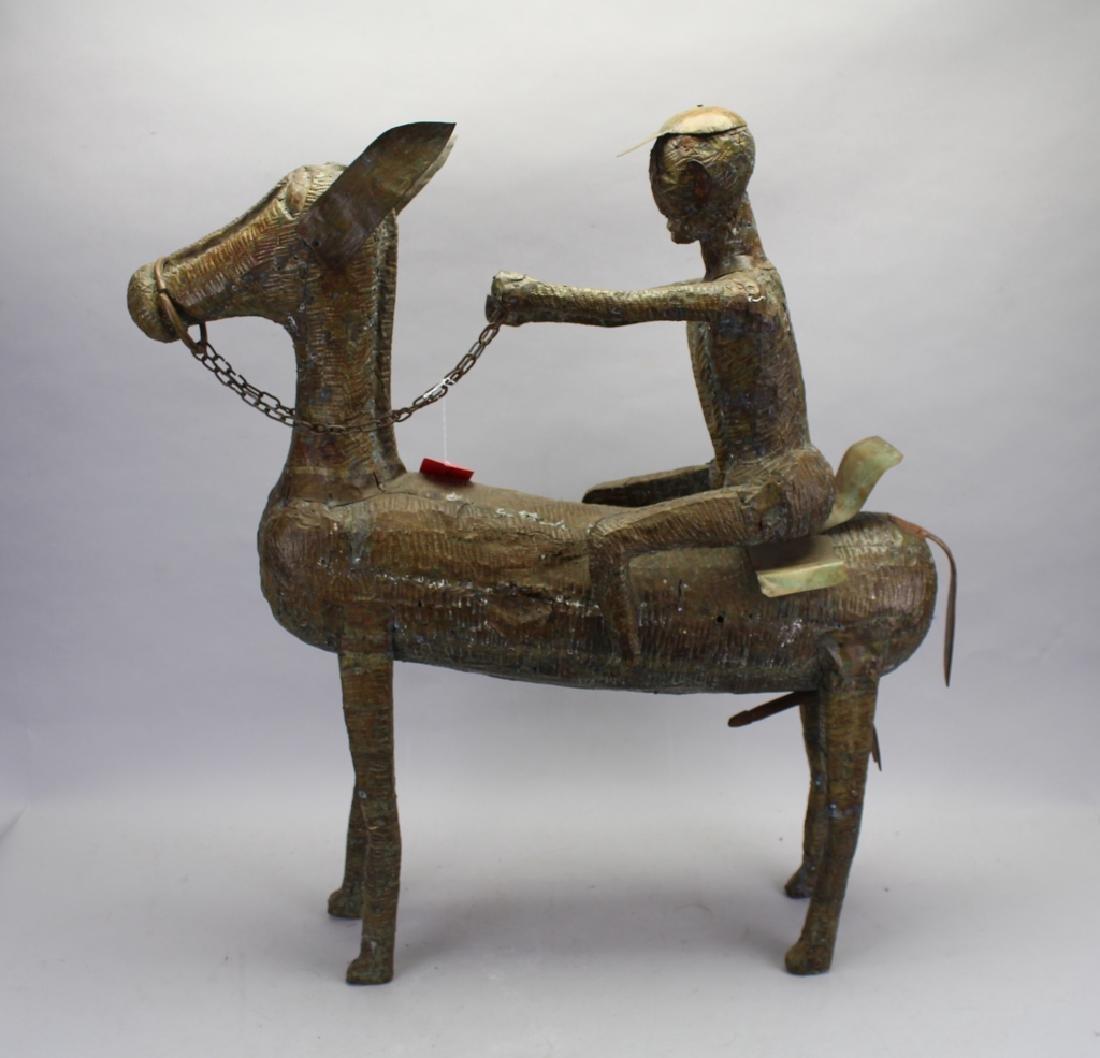 20th C.Equestrian Figure