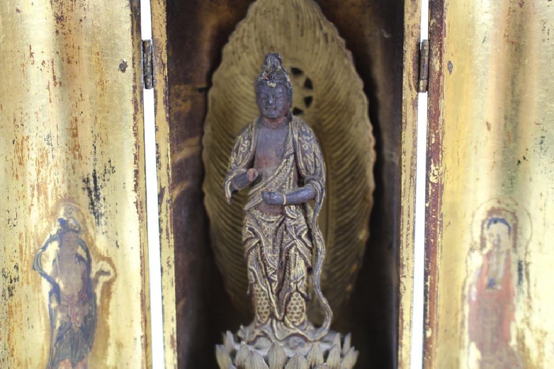 Qing Dynasty Chinese Traveling Shrine - 4