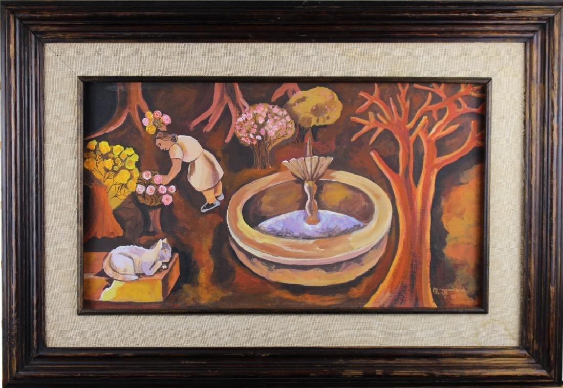 """Maria Izquierdo (1902 - 1955) """"La Fuente, 1941"""""""