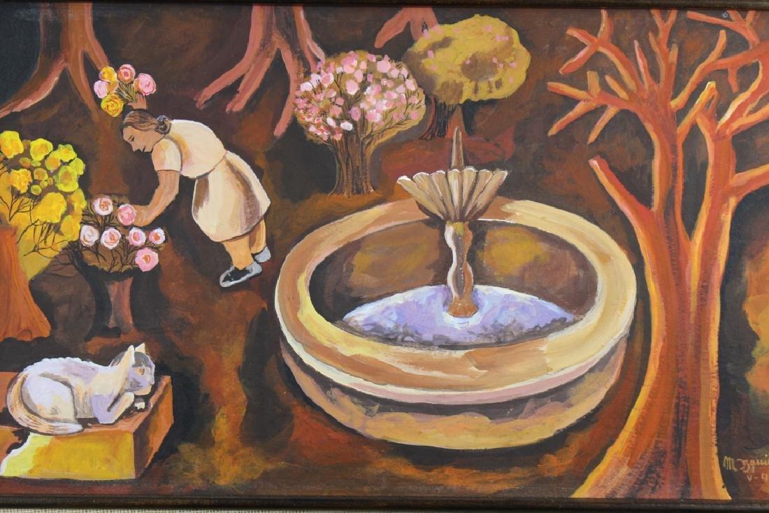 """Maria Izquierdo (1902 - 1955) """"La Fuente, 1941"""" - 2"""