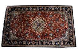 Antique Persian Silk Rug