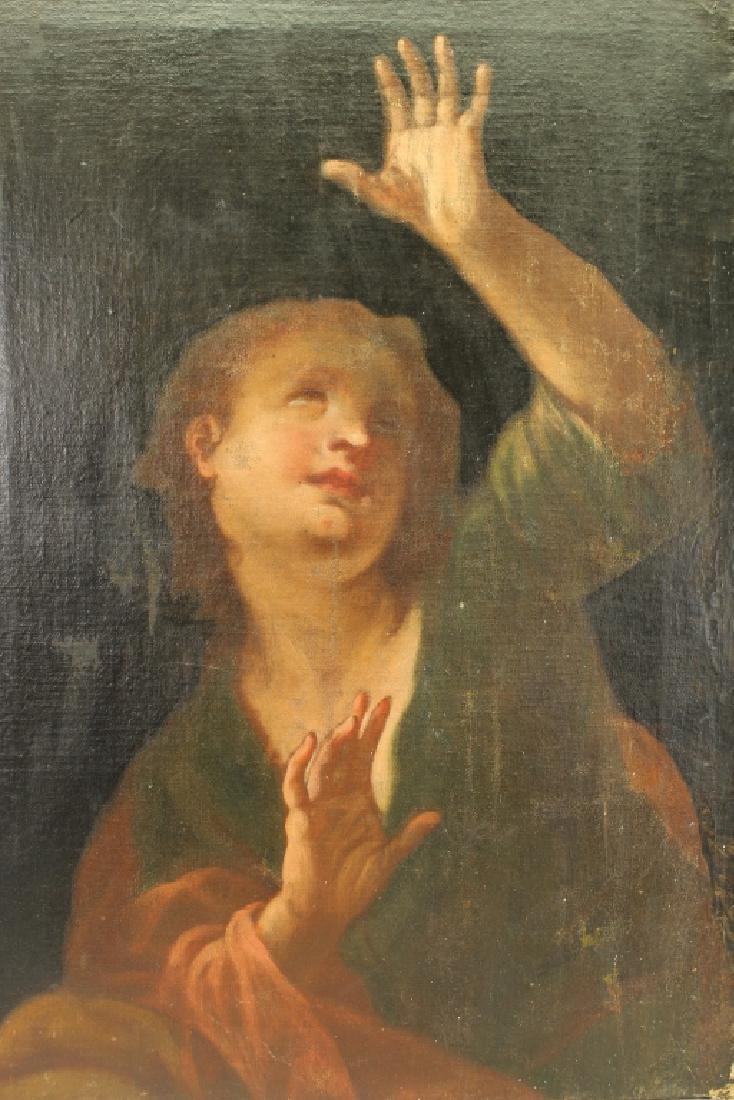 17th C. Old Master Venetian School Oil/Canvas