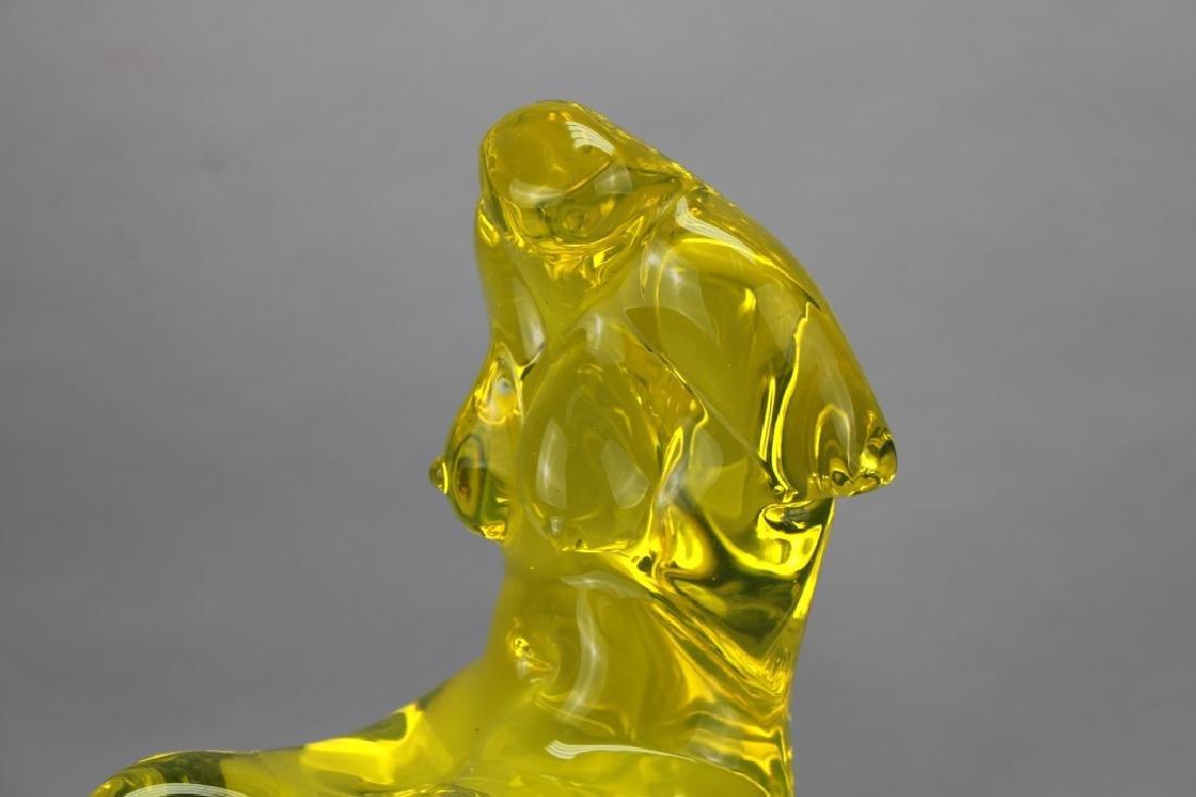 1950's Italian Murano Figural Glass Sculpture - 2