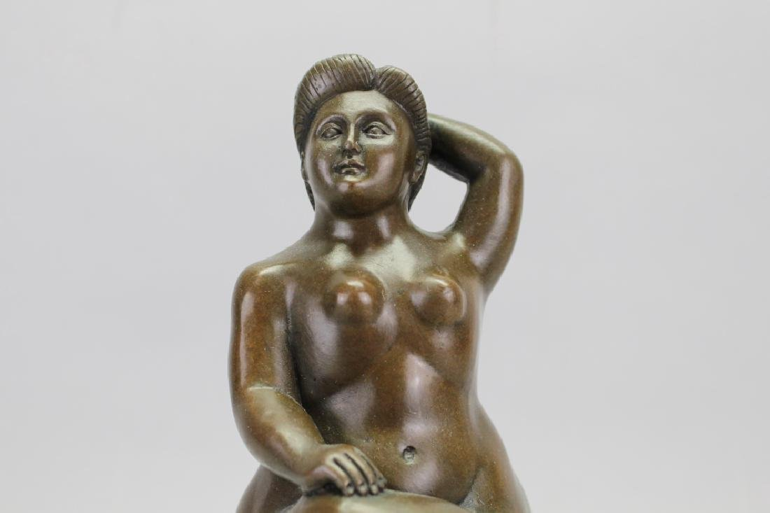 Signed Botero Bronze, W/ Foundry Seal - 2