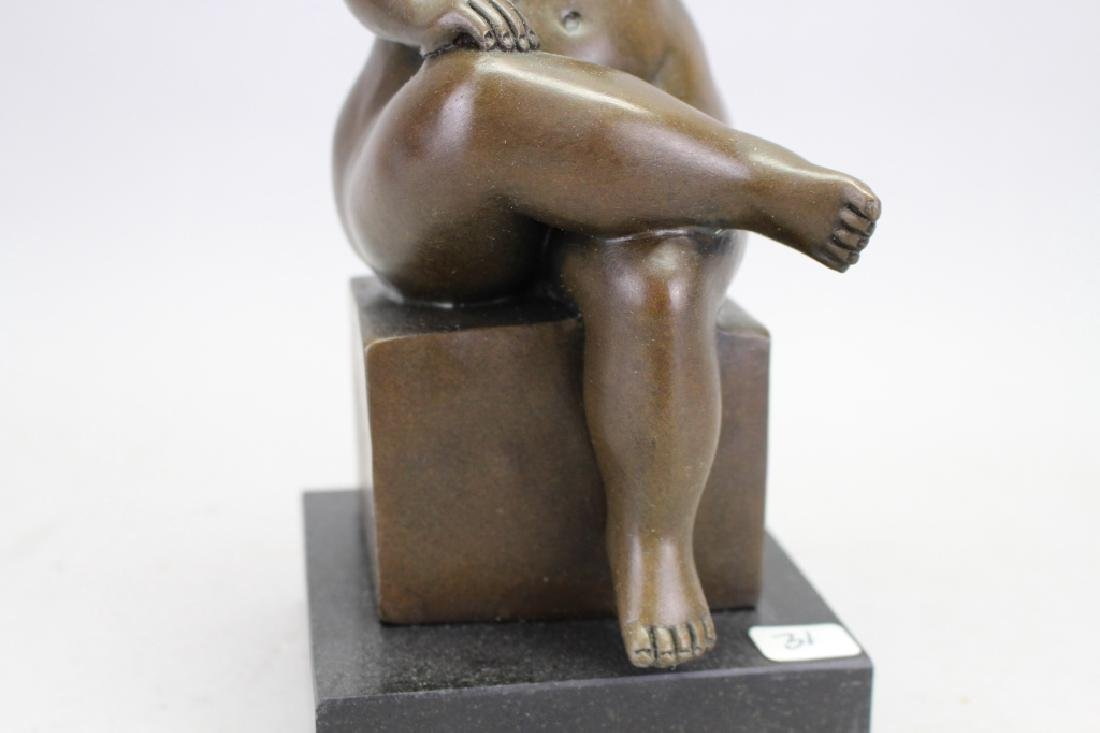 Signed Botero Bronze, W/ Foundry Seal - 3