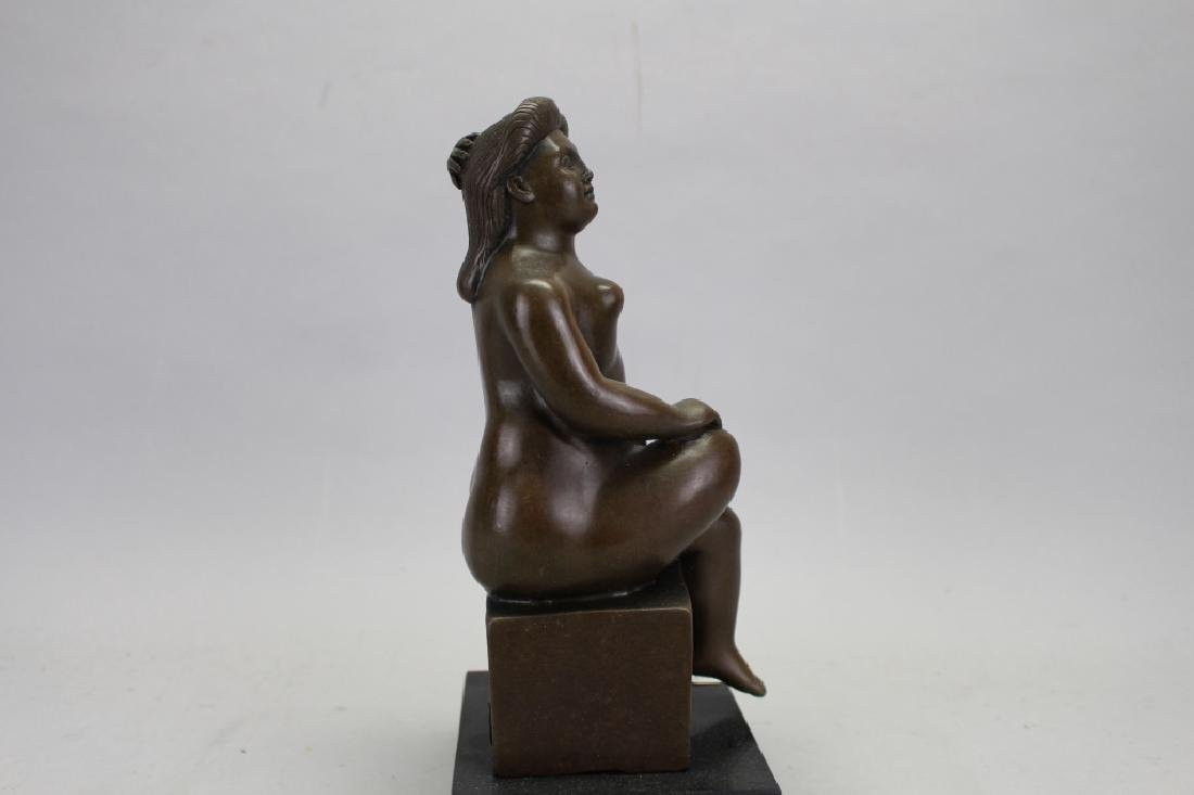 Signed Botero Bronze, W/ Foundry Seal - 4