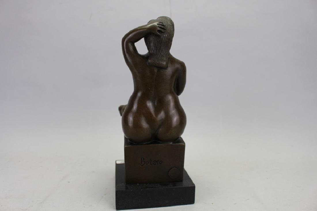 Signed Botero Bronze, W/ Foundry Seal - 5